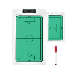 Coach clipboard voetbal