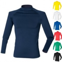 Base layer Turtle Neck compressie shirt