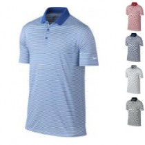 Nike Victory stripe Dri-Fit polo