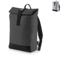 Roll-top backpack reflective 15L